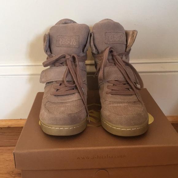 Ash Shoes - ASH Designer Sneaker Wedges